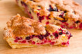 Piece of berry pie Royalty Free Stock Photos