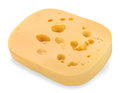 Piece of cheese fresh and fragrant Royalty Free Stock Image