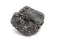 A piece of coal Royalty Free Stock Photo
