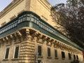 Piece of European Mediterranean British Architecture Royalty Free Stock Photo