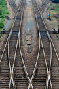 A piece of rail Royalty Free Stock Photo