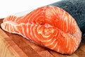 A piece of salmon Stock Image