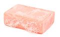 Piece of soap and foam Royalty Free Stock Photo