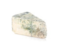 A piece of soft blue cheese Stock Photos