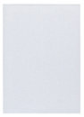 Piece of white blank paper isolated on pure background Stock Photography