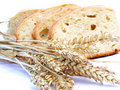 Pieces of bread Stock Photography