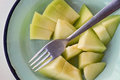 Pieces of melon Royalty Free Stock Photo