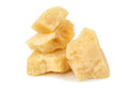Pieces of parmesan Royalty Free Stock Photo