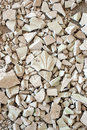 Pieces of stucco gypsum decoration Stock Photography