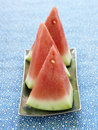 Pieces of watermelon Stock Image