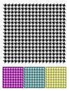 Pied-de-Poule textura Fotografia de Stock Royalty Free