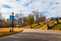Piedmont park and Midtown Atlanta, USA Royalty Free Stock Photo