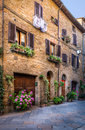 Stock Images Pienza in Tuscany