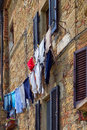 Pienza tuscany italy may buildings in pienza tuscany on Royalty Free Stock Images