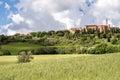 Pienza tuscany italy may view of pienza tuscany on may Royalty Free Stock Image