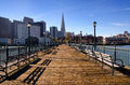 Pier 7 San Francisco Royalty Free Stock Photo