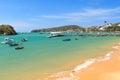 Pier boats sea in armacao dos buzios near rio de janeiro braz brazil Stock Photos