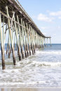 Pier at Carolina Beach, North Carolina Royalty Free Stock Photo