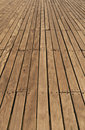 Pier decking Royalty Free Stock Photo