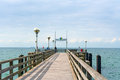 Pier in graal mueritz germany june a popular sea spa town at the baltic sea germany Royalty Free Stock Photo