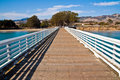 Pier near San Simeon Royalty Free Stock Image