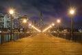 Pier 7 At Night