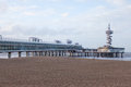 Pier at Scheveningen Royalty Free Stock Photo