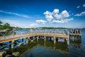 Pier In The Seekonk River, In ...
