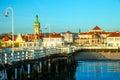 Pier in Sopot at morning