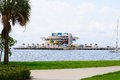 St. Petersburg Florida Pier Royalty Free Stock Photo