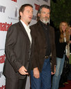 Pierce Brosnan,Greg Kinnear Stock Photo
