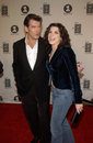 Pierce Brosnan,Julianna Margulies Stock Photography