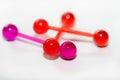 Piercing body jewelry Royalty Free Stock Photo