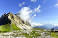 Pietra Grande mountain range, Dolomites of Brenta, Italy. Royalty Free Stock Photo