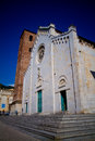 Pietrasanta Cathedral Royalty Free Stock Photos
