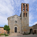 Pieve S. Giovanni Battista, in Lucignano - Tuscany Stock Images
