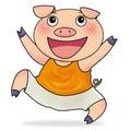 Pig先生 免版税图库摄影