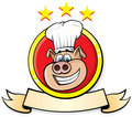Pig Chef Stock Photo