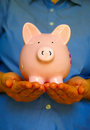 Pig holder Stock Images