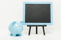 Piggy Bank and Chalkboard Royalty Free Stock Photo
