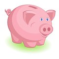 Piggy bank this is file of eps format Royalty Free Stock Photos