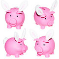 Piggy banks. Stock Photography