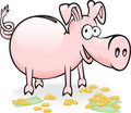 Piggy-piggy Royalty Free Stock Image