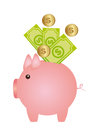 Piggy vector Royalty Free Stock Photo