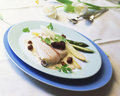 Pike-perch fillet  Stock Photography