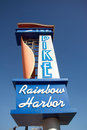 The Pike Rainbow Harbor Royalty Free Stock Photo
