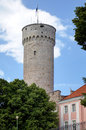 Pikk hermann tower tallinn estonia Royalty Free Stock Images