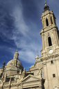 Pilar cathedral Royalty Free Stock Photography