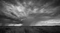 Pilbara storm front fronts collide in outback western australia Stock Photography
