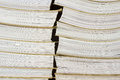 Pile of archival documents Royalty Free Stock Photo
